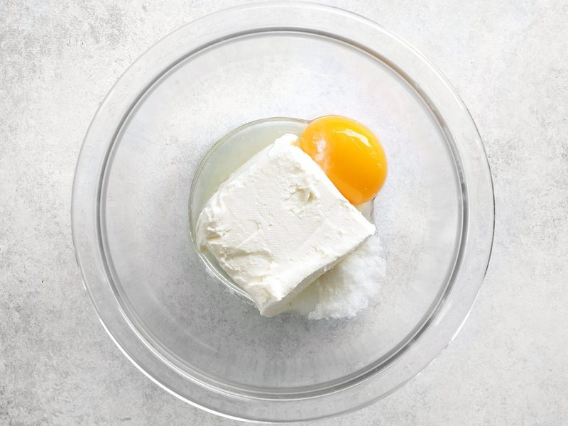 Cream Cheese Egg Lemon Sugar