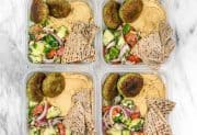 Sunday Meal Prep: Falafel and Hummus Box