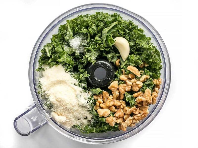 Kale Pesto Ingredients