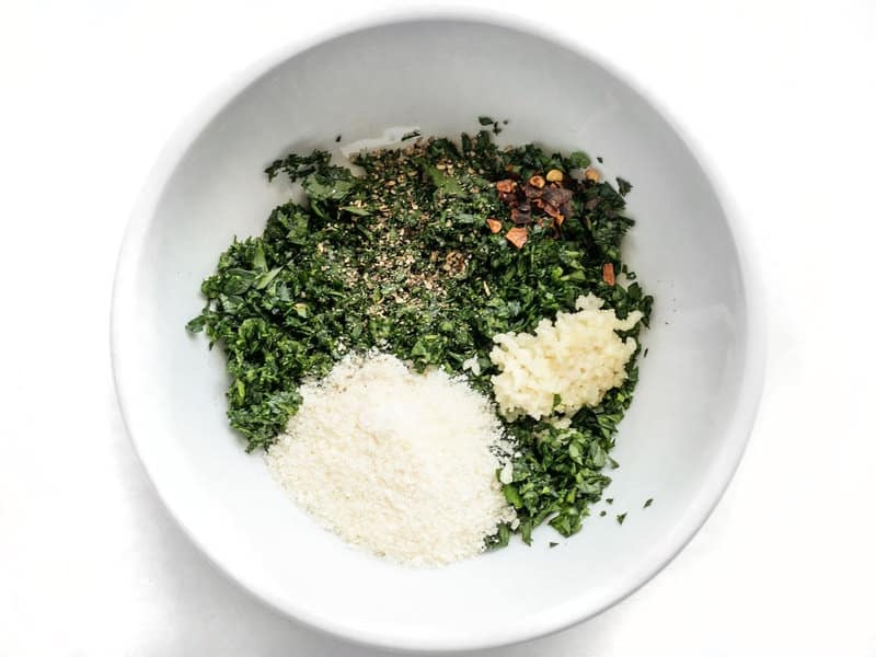 Parsley Pesto Dry Ingredients