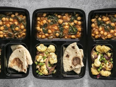 Curried Chickpeas Meal Prep