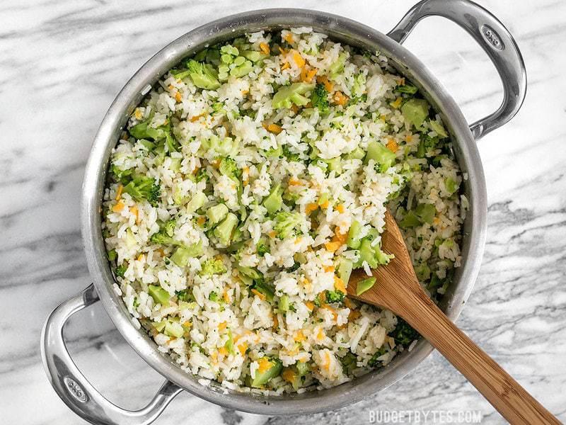 Easy Cheesy Broccoli Rice Budget Bytes