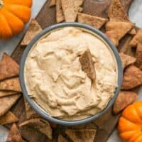 This Pumpkin Cheesecake Mousse is a super light and fluffy dessert packed with fall spices and just enough sweetness to balance the pumpkiny flavor. BudgetBytes.com