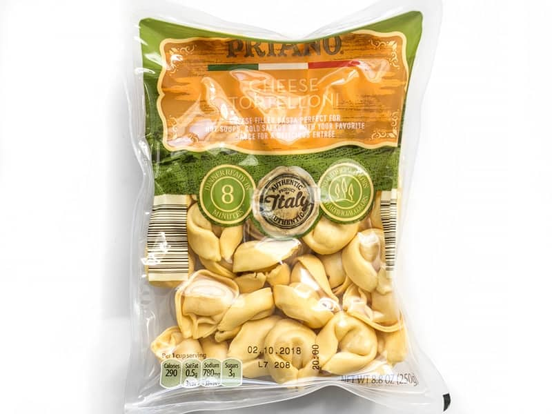 Cheese Tortelloni Package
