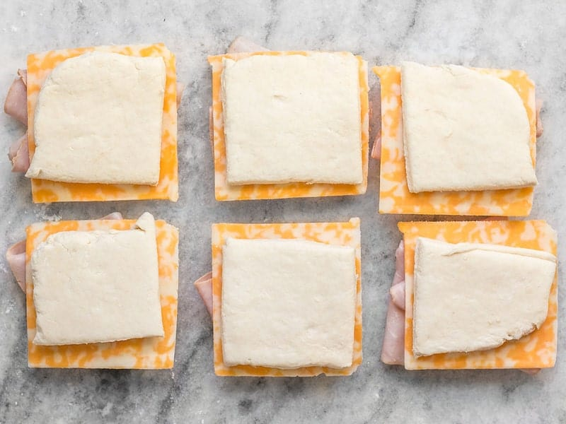 Make Ham and Cheese Biscuits