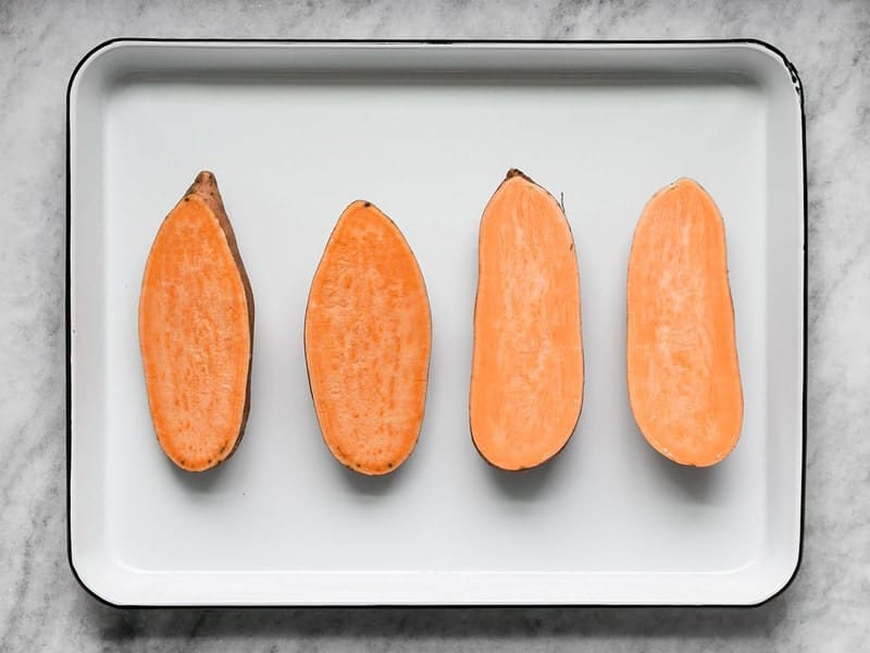 Open Sweet Potatoes