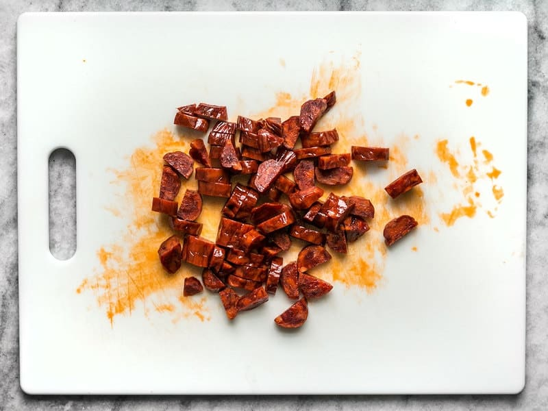 Chopped Spanish Chorizo