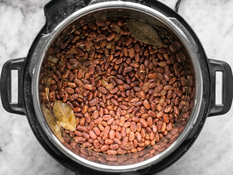 Cooked Pinto Beans in Instant Pot