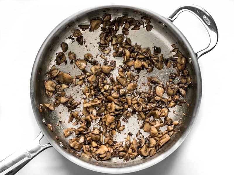 Sautéed Mushrooms for Green Bean Casserole