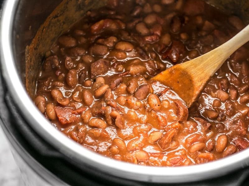 Simmered Pinto Beans with Chorizo