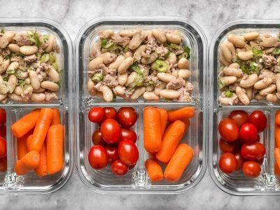 Tuna & White Bean Salad Meal Prep