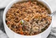 Wild Rice and Vegetable Casserole