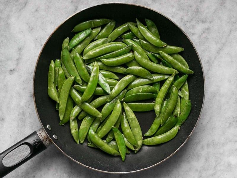 Sautéed Snap Peas