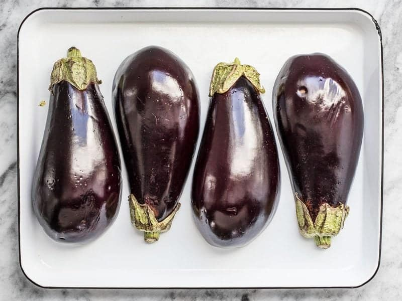 Eggplant Ready to Roast