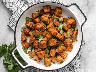 Moroccan Spiced Sweet Potatoes