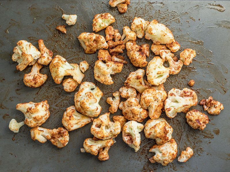 Seasoned Frozen Cauliflower Florets