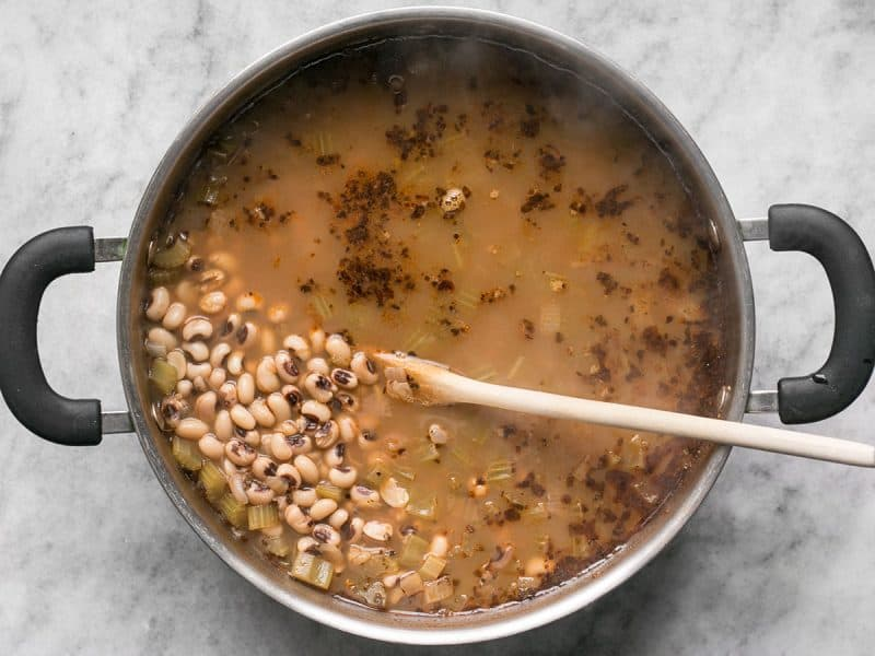 Simmered Black Eyed Peas
