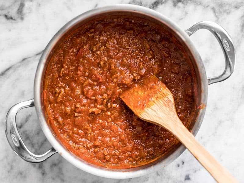 Simmered Meat Sauce