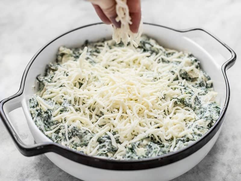 Double Spinach Artichoke Dip - Budget Bytes
