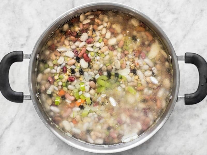 Add Water to 15 Bean Soup