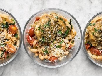 This Herb Butter Chicken Meal Prep covers all the bases (meat, carb, vegetable, and FLAVOR) with just two easy recipes. BudgetBytes.com