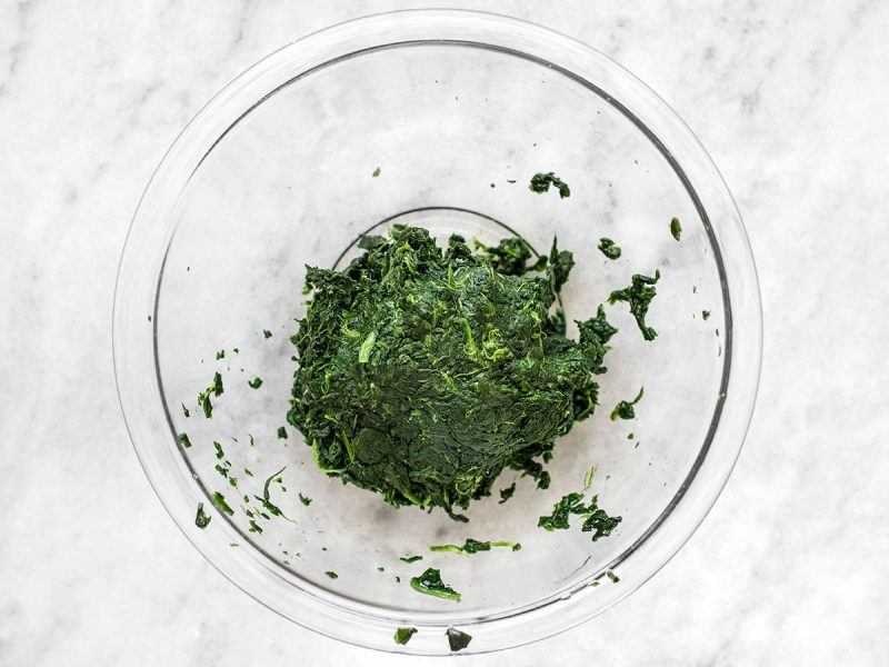 Squeezed Spinach