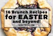 16 Brunch Recipes for Easter and Beyond