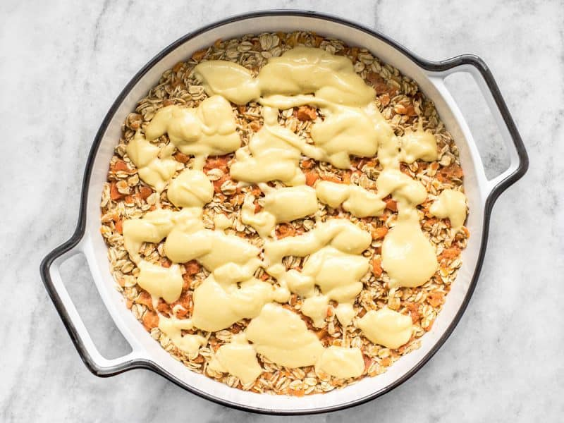 Carrot Cake Baked Oatmeal Ready to Bake