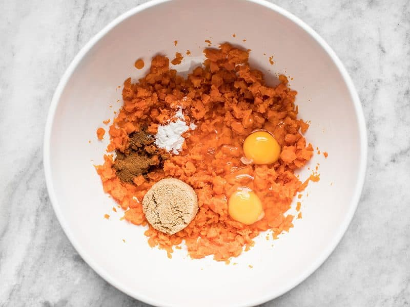 Carrots Sugar Eggs Spices