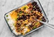 Easiest Burrito Bowl Meal Prep