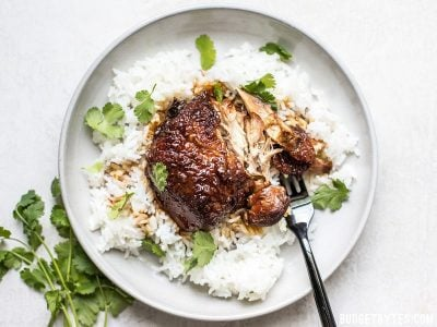 Jessica Gavin's Honey Hoisin Garlic Chicken