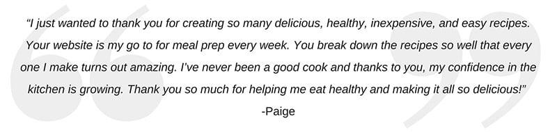 Paige's Quote