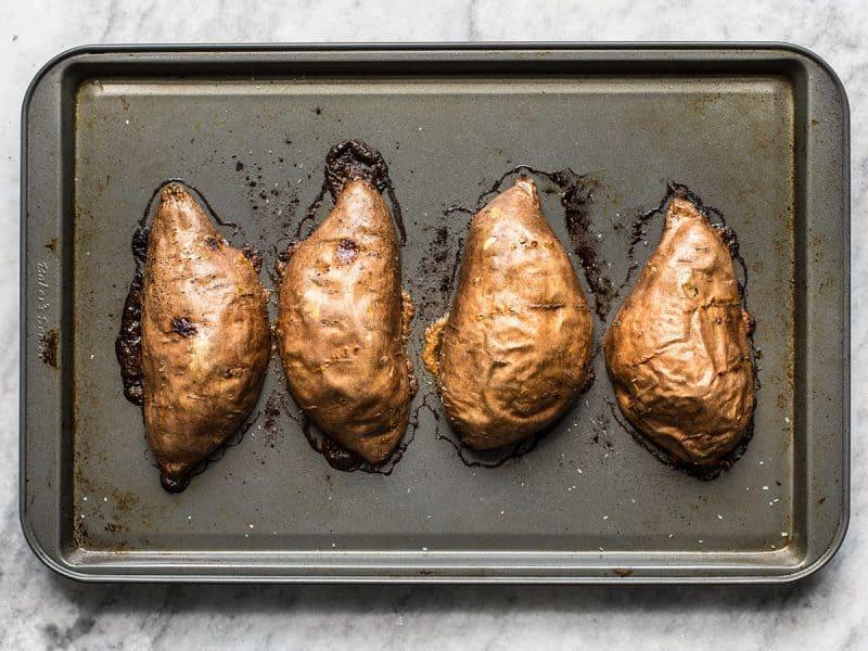 Roasted Cinnamon Sweet Potatoes