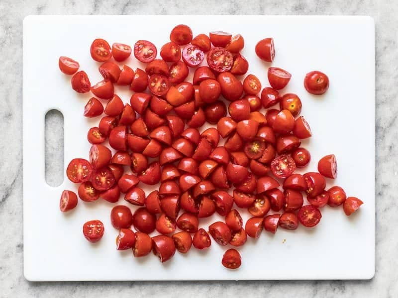Slice Grape Tomatoes