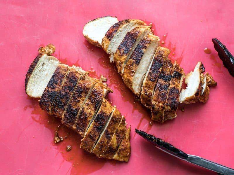 Sliced Smoky Chicken Breasts