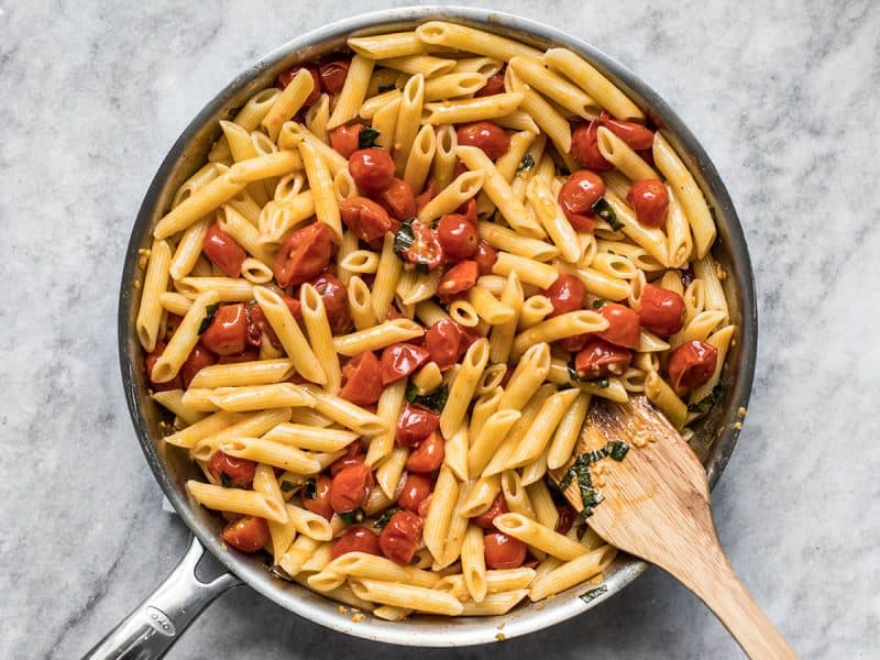 Stir in Cooked Pasta