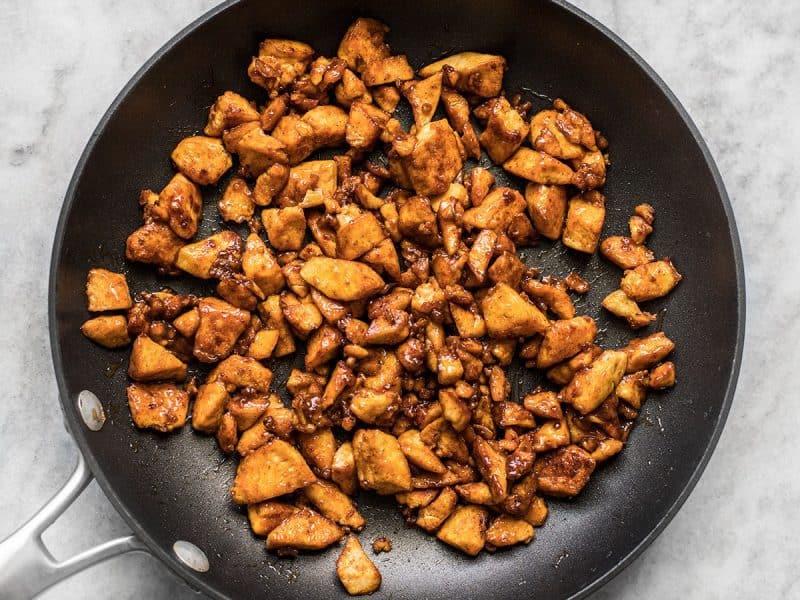 BBQ Tofu finished