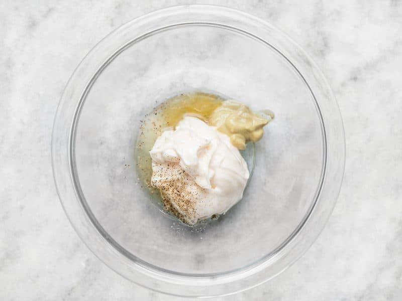 Coleslaw DRessig Ingredients