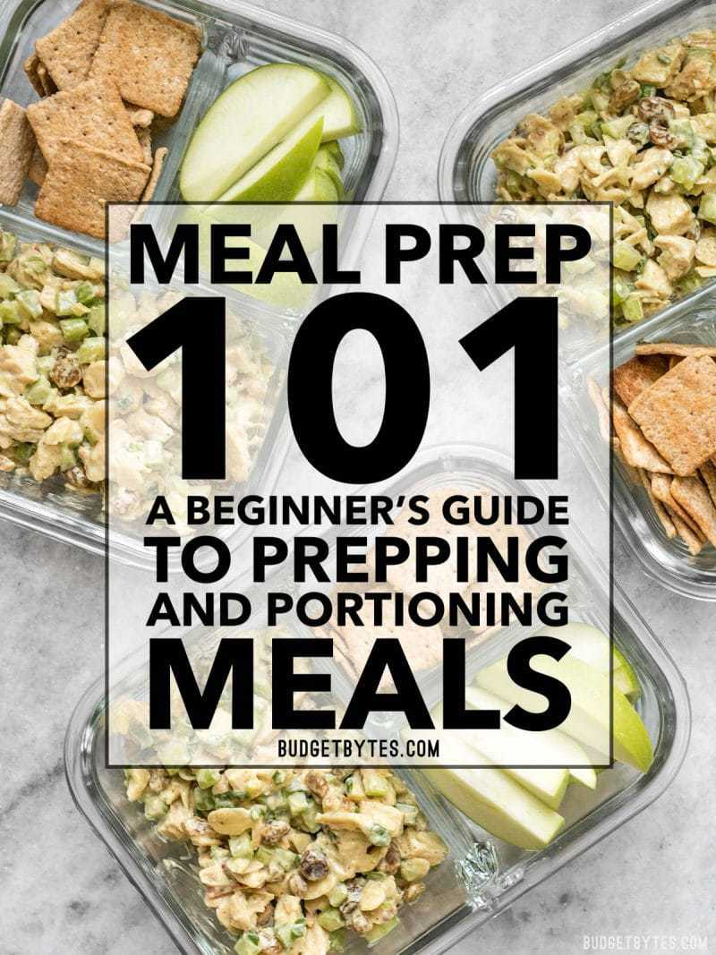 Demystify the who, what, and how of meal prepping with this meal prep 101 beginners guide. Make your meals easier, convenient, and more efficient with this simple method. BudgetBytes.com