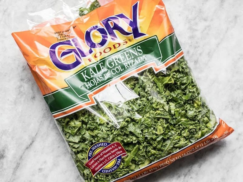 Pre-Chopped Bagged Kale