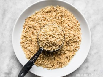 How to make breadcrumbs (and Italian breadcrumbs) from bread scraps for use in meatballs, meatloaf, breading fried food, or topping casseroles. Budgetbytes.com