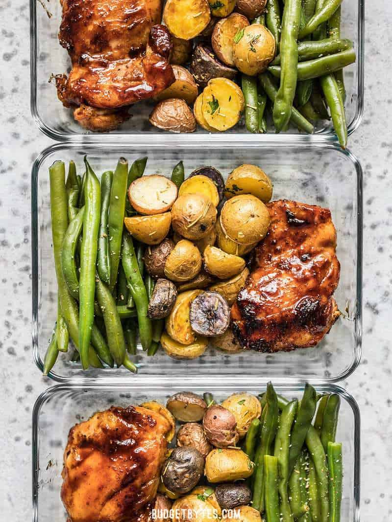 Glazed Chicken Meal Prep