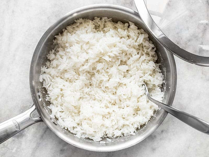 Fluff Coconut Rice