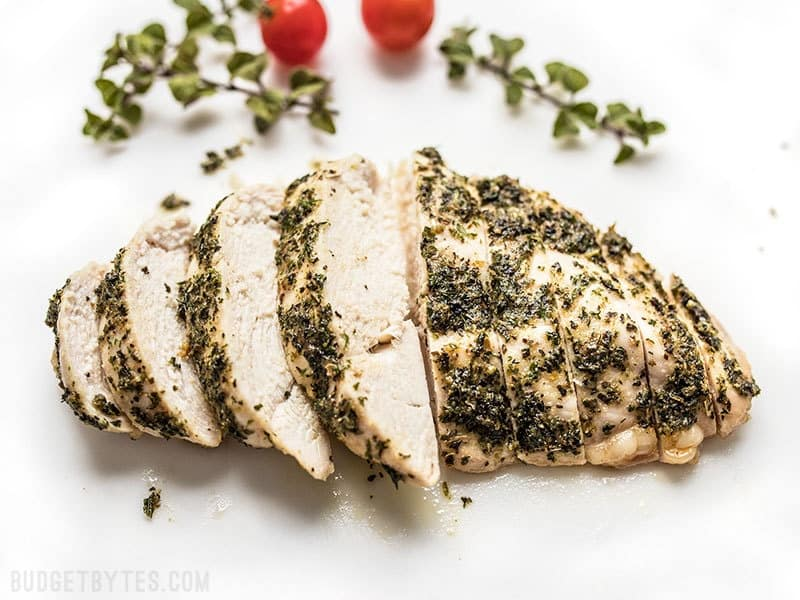 Garlic Herb Baked Chicken Breast