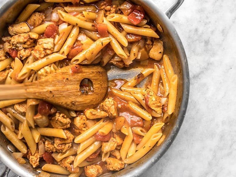 Simmer Cajun Chicken Pasta