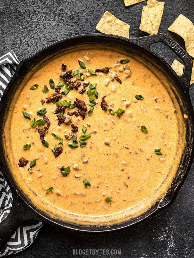 Spicy Chorizo Cheese Dip
