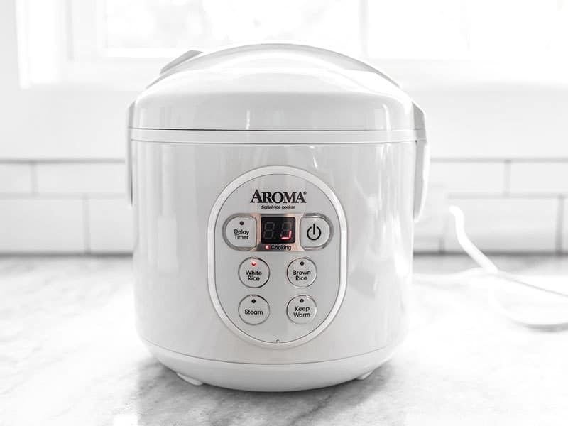 Turn On Rice Cooker