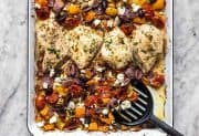 Sheet Pan Greek Chicken and Vegetables