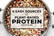 5 Easy Sources of Plant-Based Protein