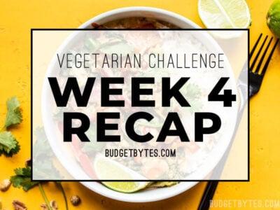 Week 4 Recap